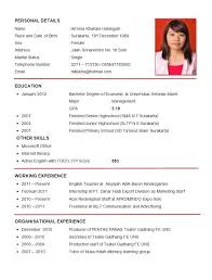 example of resume 19 sample for teacher job sales lewesmr format