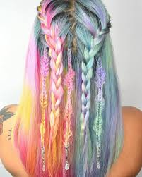 Sping Colors Unicorn Hair U201d Trend Is A Fantastical Way To Celebrate The Pastel