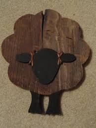 wooden sheep ornaments 3 set gr0418 wood crafts pinterest