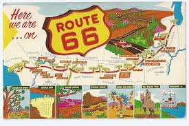 map us highway route 66 travel guide for historic u s route 66 the road photos