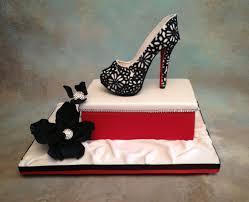 shoe cake topper fondant gum paste shoe cake topper