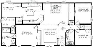 3 Bedroom Mobile Home Small 3 Bedroom 2 Bath Floor Plans 3 Bedroom 2 Bath Mobile Home