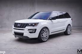 ford explorer 2017 black 2016 ford explorer mad industries niche alpine mht wheels inc