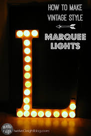 how to make marquee lights paper mache letter copper foil ping