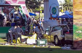 monster truck show accident truck plunges off san diego bridge killing 4 in crowd below