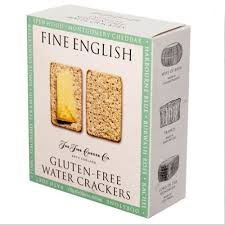 gluten free water crackers by crackers for cheese