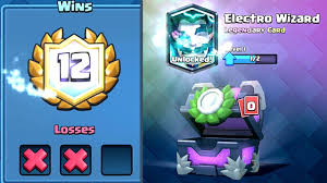 free clash of clans wizard clash royale u2013 12 win electro wizard deck first try clash