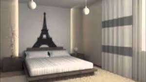 interior design cool paris themed bedroom decor cool home design