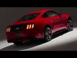 ford mustang 4 cylinder 2015 ford mustang revealed with 4 cylinder since 1993 photos