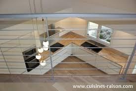 cuisine bois et blanc laqué cuisine blanche et bois clair archaque foire cuisine blanc