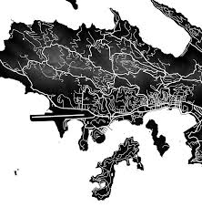 St Thomas Virgin Islands Map St Thomas Map Print Us Virgin Islands Colors U2013 Maps As Art