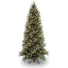 national tree pre lit 7 1 2 feel real downswept douglas slim