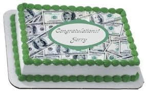 money cake designs money 100 dollar bills moolah edible frosting icing sheet