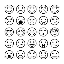 crafty emotion faces coloring pages 5 happy face feelings story