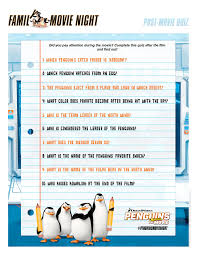 watch penguins of madagascar and fill out this quiz don u0027t peek at