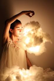how to make a cloud light how to make glowing clouds of cotton hometalk