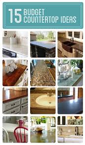 inexpensive kitchen countertop ideas brilliant cheap kitchen countertop ideas stunning home design
