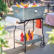Outdoor Furniture Ideas by Furniture Stunning Design Of Patio Cooler Cart For Cool Outdoor