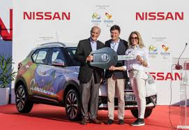 nissan rio rio 2016 organizing committee receives from nissan the official