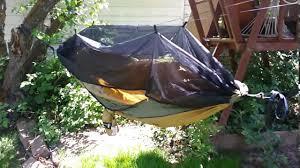 2 minute skeeto shield setup mosquito net hammock setup youtube