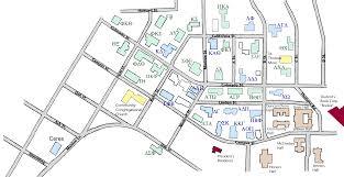 Washington State Maps by Washington State Universitys Greek Row Map Pullman Wa 99164