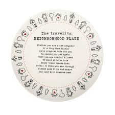 plate you are special traveling neighborhood giving plate
