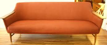 cheap mid century modern sofa orange painting ikea furniture great idolza