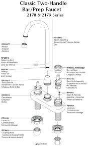 kohler kitchen faucet parts diagram kohler kitchen faucet parts diagram review home co