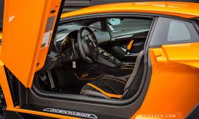 2016 lamborghini aventador interior 2016 lamborghini aventador lp 750 4 superveloce coupe weissach