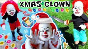 Halloween Costumes For A Family Of 5 Christmas Clown Ruins Our Decorations Killer Fun Time Holiday