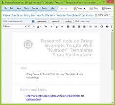 kustomnote experience evernote like never before with custom