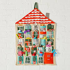 advent calendar kids advent calendar the land of nod