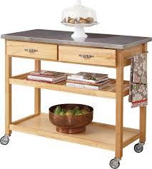 kitchen island cart stainless steel top kitchen island cart stainless steel top white wooden kitchen