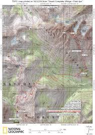 Mount Sac Map Mt Stuart Razorback Pigs Or Ridges