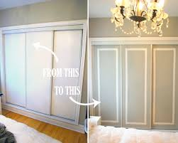 Cheap Closet Doors Diy Challenge Give Your Closet Doors A Makeover Ideas And