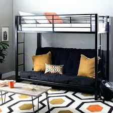 black metal twin loft bed with desk new loft bed black metal accioneficiente com