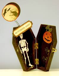 oh my crafts blog coffin box halloween decor
