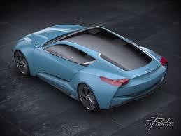buick supercar 3d buick riviera concept 2013 cgtrader