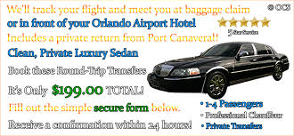 Car Service From Orlando Airport To Port Canaveral Lincoln Town Car 1 4 Pass Roundtrip Mco To Port Canaveral To