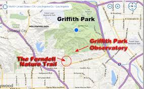 griffith park map popspots