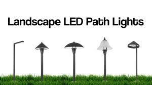 Led Landscape Lighting Reviews by Led Landscape Lights Outdoor Led Lighting Options Youtube