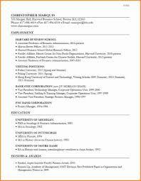Resume Sle by Resume Sle Harvard 28 Images New Graduate Resume Exles Cna