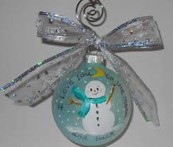 custom ornament i you to the moon by rachaelsgarden