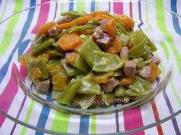 comment cuisiner les haricots plats poêlée d haricots plats et carottes aux dés de jambon light