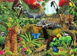 forests zebras digital forests seasons flowers art leopards