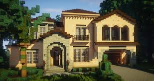 traditional house traditional house mediterranean style spanish villa minecraft