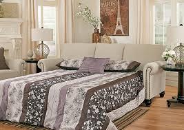 sofa bed sheets queen rossie furniture hammond la milari linen queen sofa sleeper