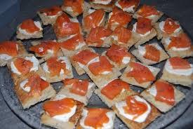 canapés saumon fumé photos canapé saumon fumé