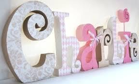 lettre chambre lettres pour chambre bebe lettres d cor es pour que votre enfant