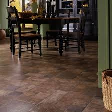 Kitchen Laminate Flooring Tile Effect Innovations Tuscan Stone Terra 8 Mm Thick X 15 1 2 In Wide X 46 2